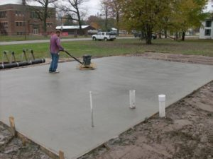 Palm Coast concrete pads for RV, sheds, AC, basketball